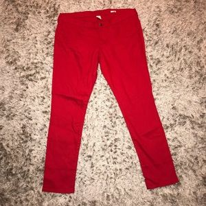 ARIZONA JEAN CO. red jeans